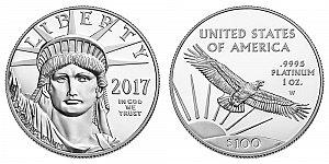 2017 American Platinum Eagle