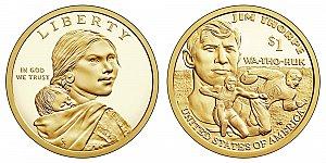 2018 Sacagawea Native American Dollar Coin Design
