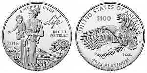 2018 American Platinum Eagle