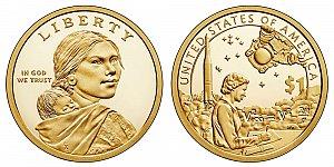 2019 Sacagawea Native American Dollar Coin Design