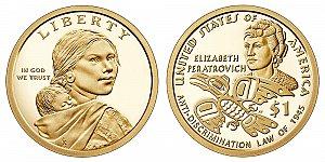 2020 Sacagawea Native American Dollar Coin Design