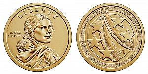 2021 Sacagawea Native American Dollar Coin Design