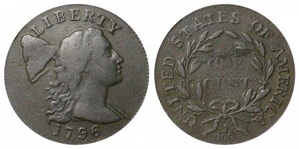 1796 Liberty Cap Large Cent Penny