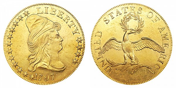1796 Small Eagle - Turban Head $10 Gold Eagle - Ten Dollars