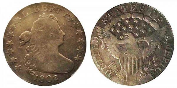 1802 Draped Bust Half Dime