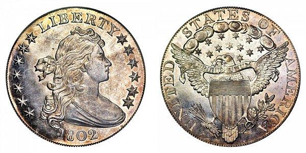 1802 Draped Bust Silver Dollar - Proof Restrike