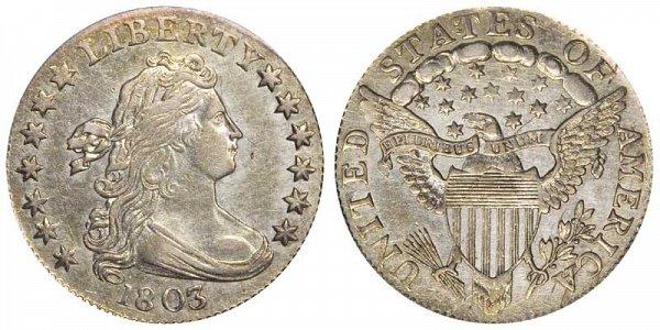 1803 Draped Bust Dime