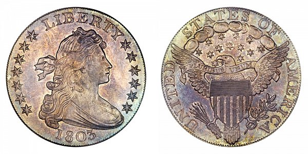 1803 Draped Bust Silver Dollar - Proof Restrike