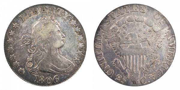 1806 Draped Bust Quarter