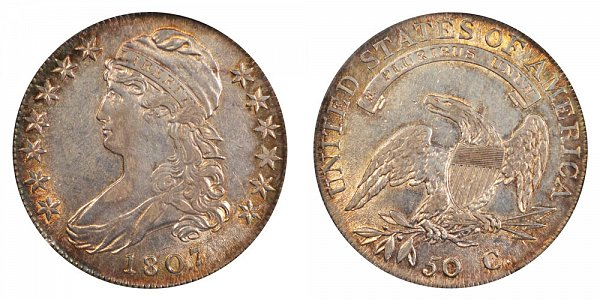 1807 Capped Bust Half Dollar - Large Stars