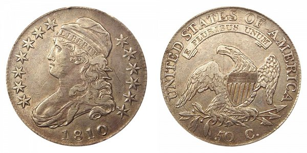 1810 Capped Bust Half Dollar
