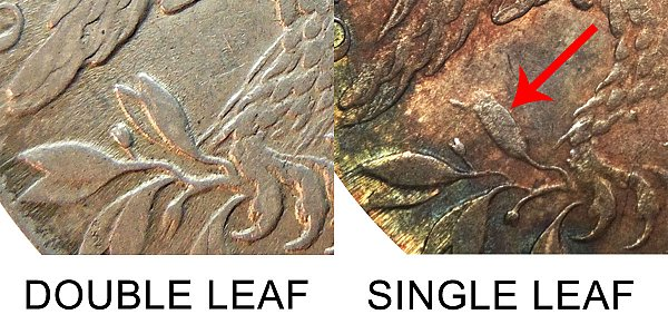 1812 Single Leaf Capped Bust Half Dollar