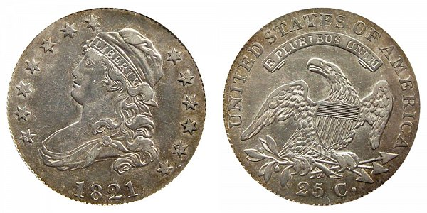 1821 Capped Bust Quarter