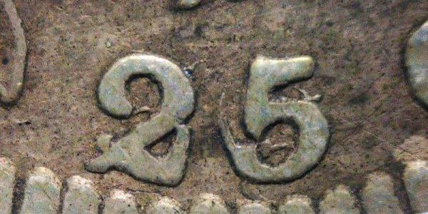 1822 25/50C Capped Bust Quarter - 25C Over 50C