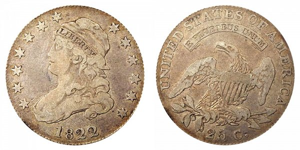 1822 Capped Bust Quarter