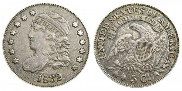 1832 Capped Bust Half Dime