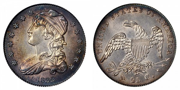 1832 Capped Bust Quarter