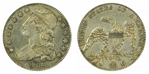 1834 Capped Bust Quarter