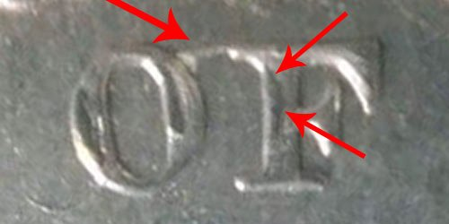 1834 Capped Bust Quarter - Doubled Die - O Over F In OF