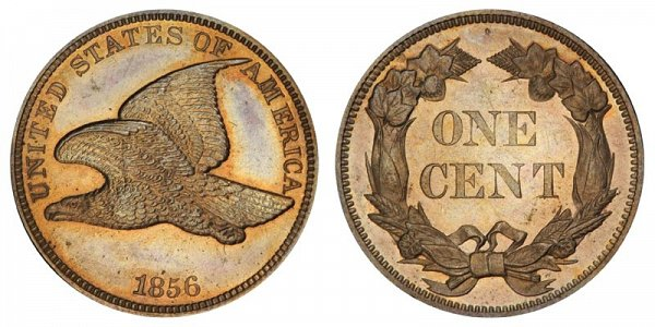 1856 Flying Eagle Cent Penny