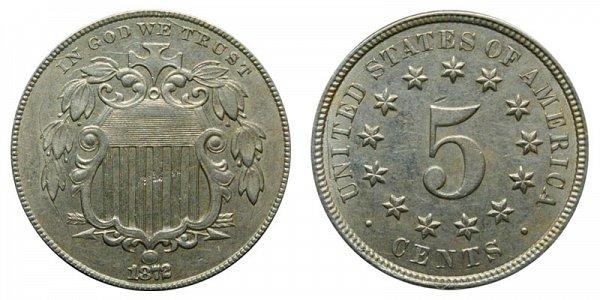 1872 Shield Nickel