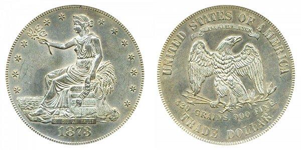 1873 Trade Silver Dollar