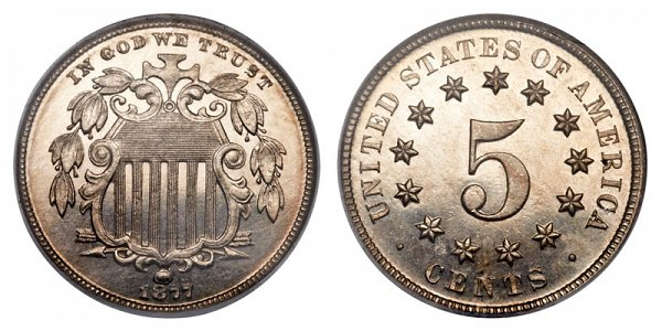 1877 Shield Nickel