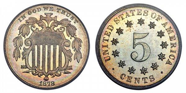 1878 Shield Nickel