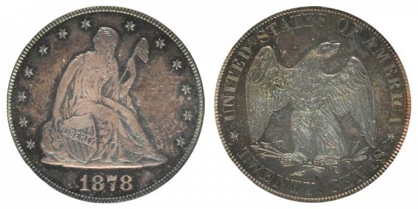 1878 Twenty Cent Piece