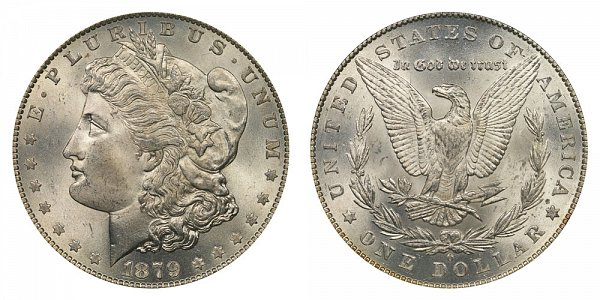1879 O Morgan Silver Dollar