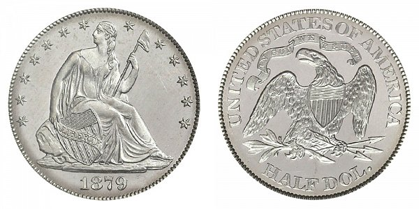 1879 Seated Liberty Half Dollar