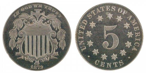 1879 Shield Nickel