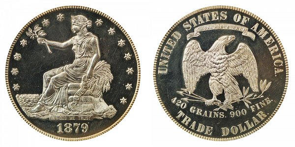 1879 Trade Silver Dollar Proof