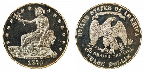 1879 Trade Silver Dollar Proof
