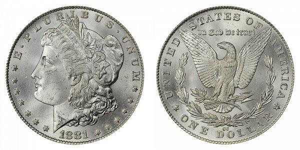 1881 CC Morgan Silver Dollar