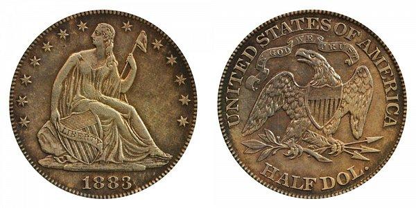 1883 Seated Liberty Half Dollar