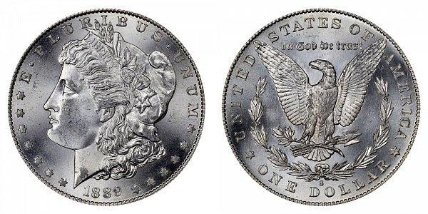 1889 S Morgan Silver Dollar
