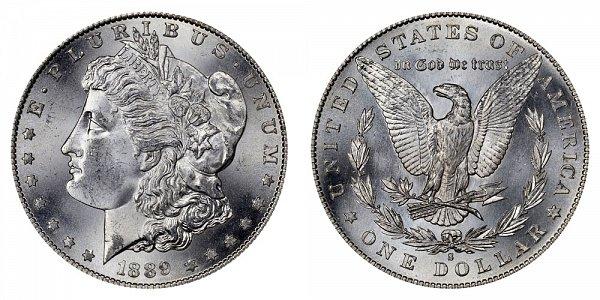 1889 S Morgan Silver Dollar
