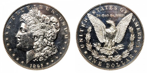 1895 Morgan Silver Dollar Proof