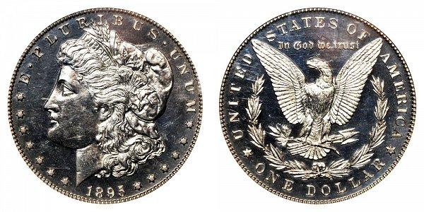1895 Morgan Silver Dollar Proof