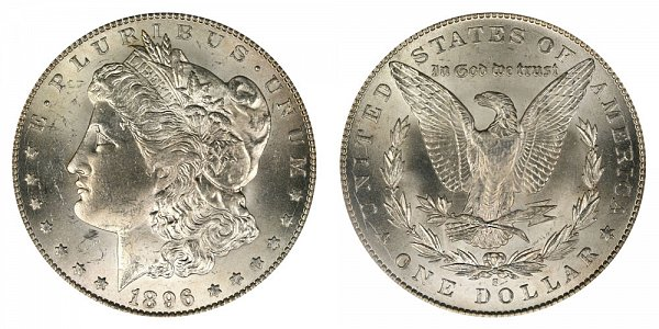1896 S Morgan Silver Dollar
