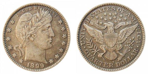 1899 S Barber Quarter