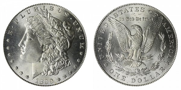 1899 S Morgan Silver Dollar