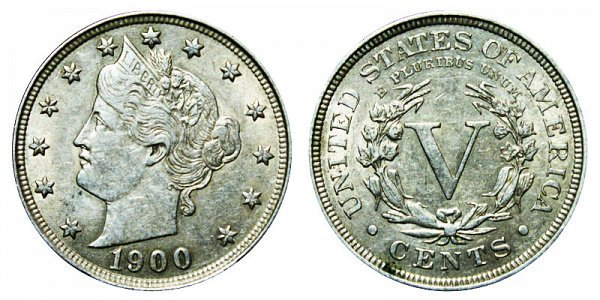 1900 Liberty Head V Nickel