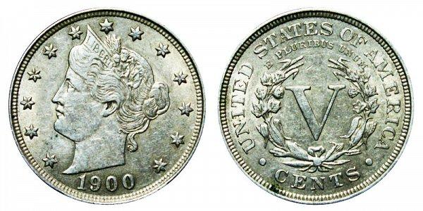 1900 Liberty Head V Nickel