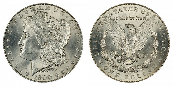 1900 O/CC Morgan Silver Dollar - O Over CC Mintmark