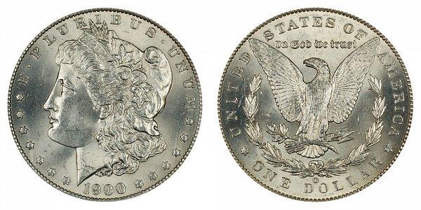 1900 O/CC Morgan Silver Dollar - O Over CC Mintmark