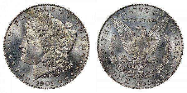 1901 S Morgan Silver Dollar