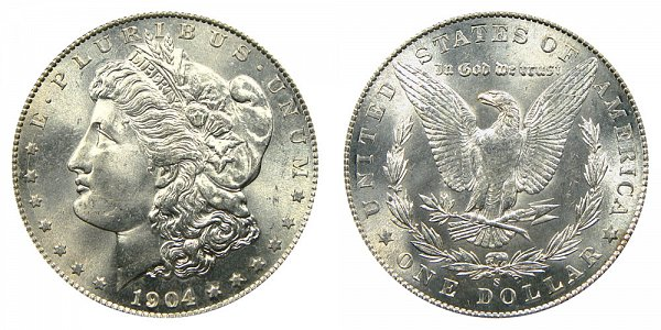 1904 S Morgan Silver Dollar