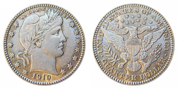 1910 Barber Quarter